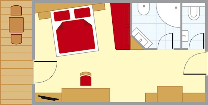 Apartment Panorama-Zimmer, ,